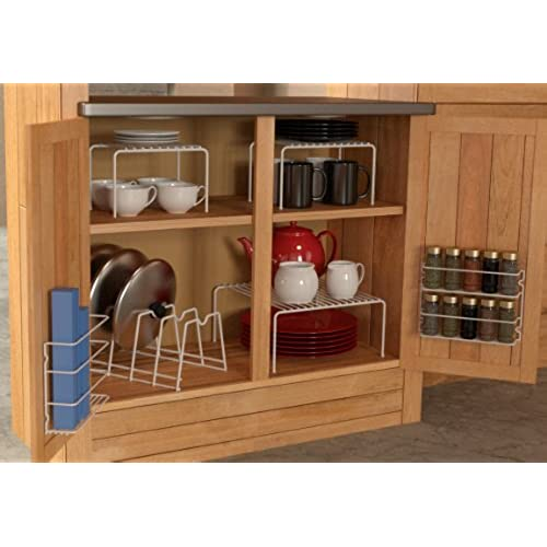 Kitchen Storage Shelf: Tupperware Organizer For Cabinet: Amazon.com