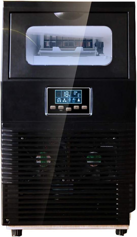 LY CROWM La Máquina del Fabricante De Hielo 3.5l Mostrador Máquina De Hielo, Hacer 40 Kg De Hielo En 24 Horas, LCD, Comercial Máquina De Hielo, El Agua, La Adición Automática De Limpieza Automática