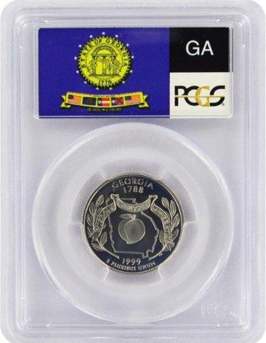 1999 Georgia State S Clad Proof Quarter PR-69 PCGS