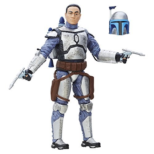 [The Black Series 6-Inch Jango Fett Figures With Exquisite Features And Articulated Movement Bounty Hunter Marksman Scarred Face Brand] (Female Bounty Hunter Costume Star Wars)