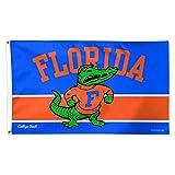 NCAA Florida Gators College Vault Flag Deluxe, 3 x 5-Foot