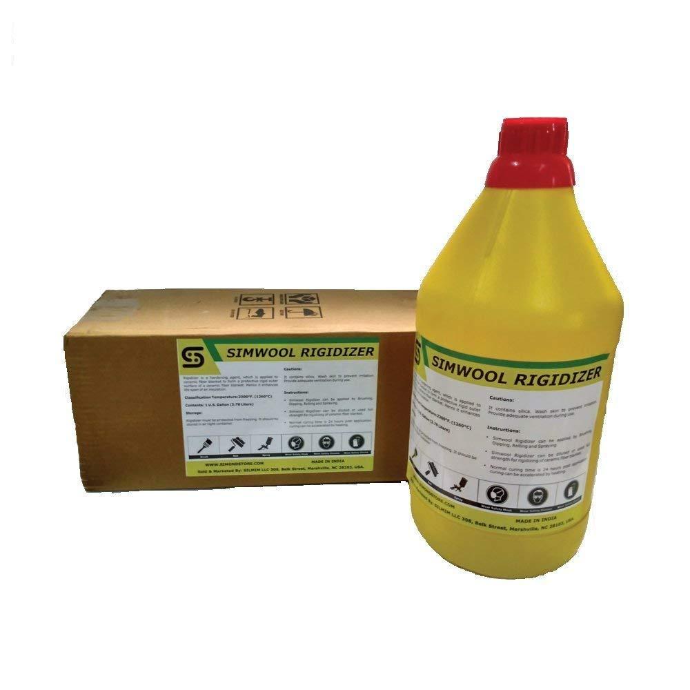 Simwool Rigidizer - Coating for Ceramic Fiber Blanket - 1 Gallon
