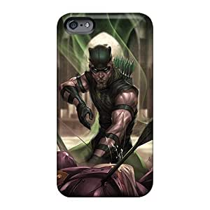 High Quality Hard Cell-phone Cases For Apple Iphone 6 Plus (dNv5673ILTa) Allow Personal Design HD Green Arrow I4 Pictures