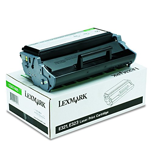 Lexmark 12A7405 High-Yield Toner, 6000 Page-Yield, Black (E323n Laser Printer)