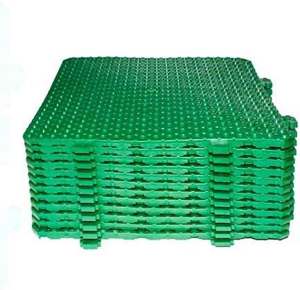 Losa tarima desmontable Náyade Block 30x30 VERDE- Pack 12 Uds ...