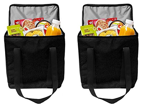 3-Way Foldable Bag (Green) set of 2 - 4