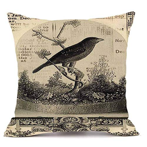 YOcheerful Happy Halloween Throw Pillow Sofa Cushion Cover