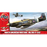 Airfix a14003A-north american mustang mk.iVA p- 51 k aviation
