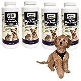 Lot of 4 Royal Pet Herbal Flea Tick Powder Cats Dogs No Pesticides All Natural !