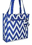 Best Ever Moda Baby Evers - Ever Moda Chevron Tote Bag (Royal Blue) Review