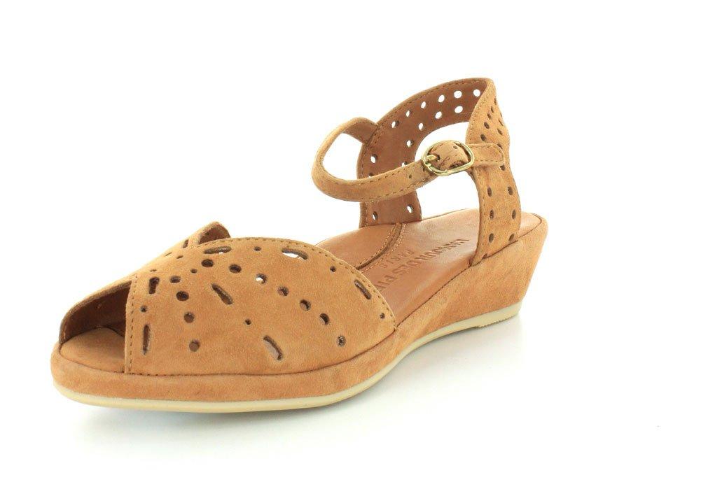 L`Amour Des Pieds Womens Brenn Cognac Sandal - 5.5 M