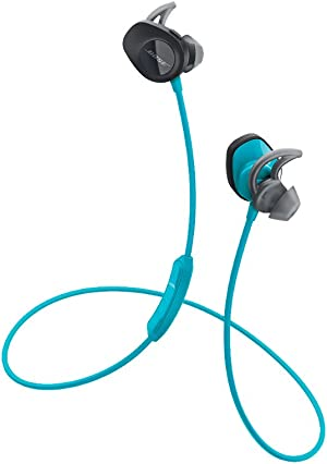 Bose SoundSport Wireless, Sweat Resistant, In-Ear Headphones, Aqua