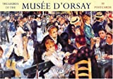 Front cover for the book Treasures of the Musee D'Orsay by Abbeville Gifts