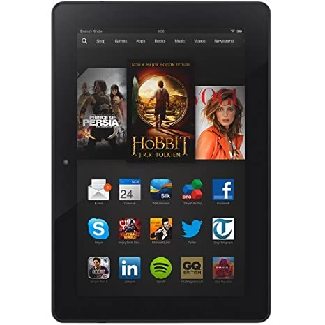 Amazon Kindle Fire HDX 8.9 64GB Black - Tablet (Tableta de tamaño completo, Linux