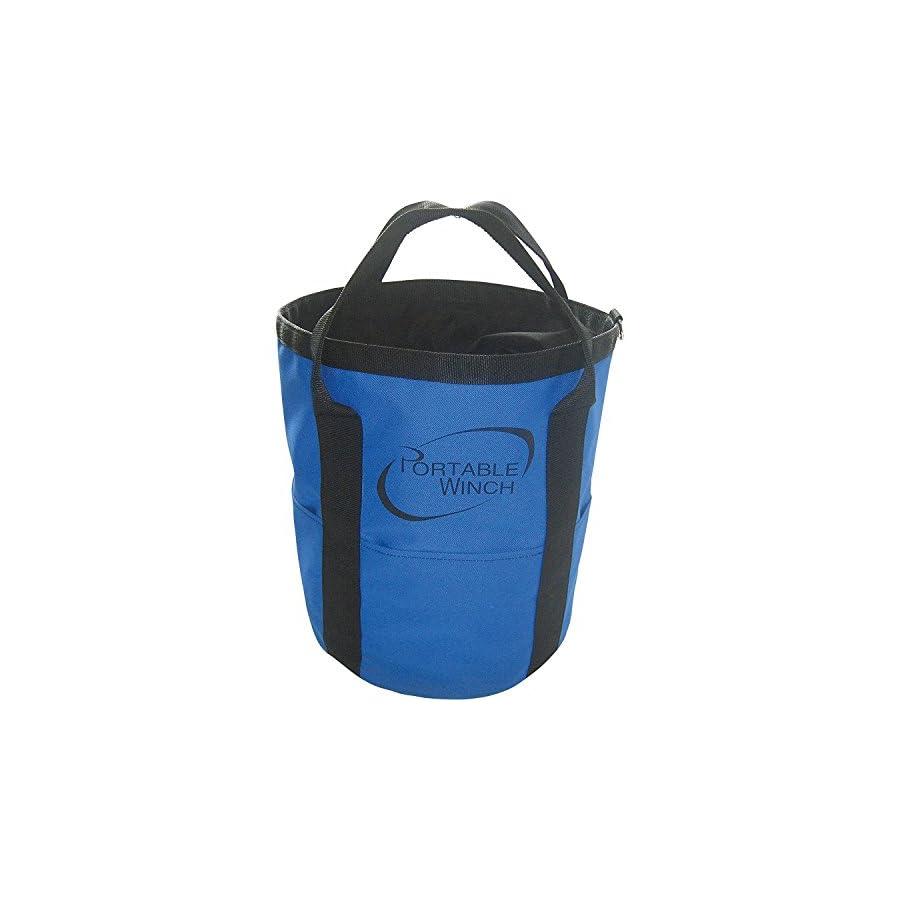 Portable Winch Rope Bag Handles, 164ft. x 1/2in. Rope Capacity, Model# PCA 1255