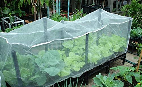 Agfabric 3ft-W x 3ft-L x 3ft-H Mosquito Netting,Garden Insect Barrier in-Shape Bag, Fruit Plant Protect Bag