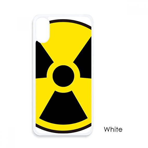 Amazon Yellow Dangerous Chemical Radiation Symbol For Iphone X