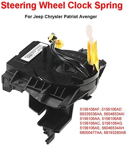CloverUS Steering Wheel Clock Spring Airbag Hairspring for Chrysler for Jeep for Dodge