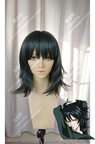 耐熱コスプレウィッグ 「ワンパンマン」フブキ(地獄のフブキ)風かつら cosplay wig sunshine onlineが+おまけ