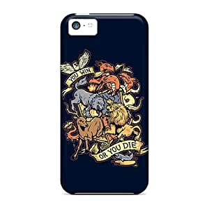 Durable Game Of Thrones Win Or Die Back Case/cover For Iphone 5c