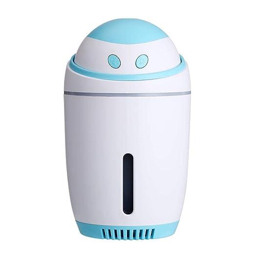 LIVEQL Dormitorio,Mini Humidificador LED Difusor Vapor ...