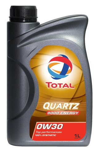 TOTAL 166249-18PK Quartz 9000 Energy 0W-30 Engine Oil - 1 Liter (Pack of 18)