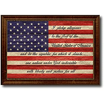 Amazon The Pledge Of Allegiance American Usa Flag Texture