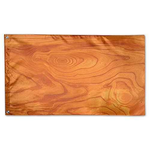 home garden flag wood grain