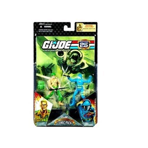 G.I. Joe 25th Anniversary Comic Pack - Duke & Cobra Commander -