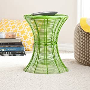 Amazon Com Contemporary Metal Wire Accent Table For