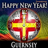 Happy New Year Guernsey with Countdown and Auld Lang Syne