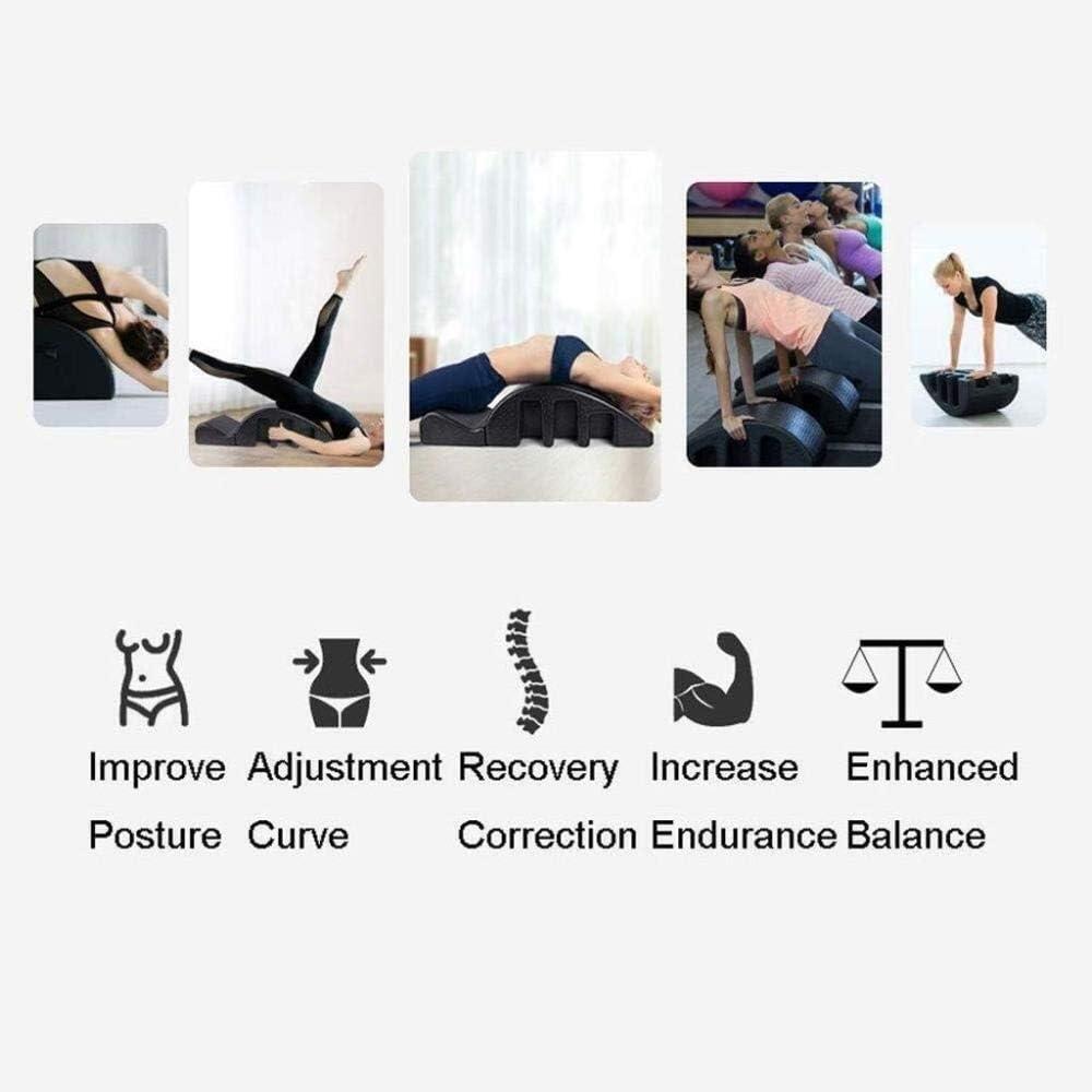 Spine Supporters Yoga spine Pilates Arc Massage Bed Pilates Multi Function Spine Orthosis Pula Massage Table To Improve Posture Endurance Pilates Arc Corrector Detachable Yoga Foam Equipment Detachabl