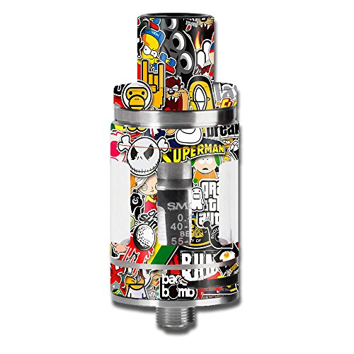 Skin Decal Vinyl Wrap for Smok Micro TFV8 Baby Beast Tank Vape Mod stickers skins cover/ Sticker Slap