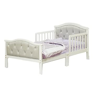 Amazon.com : Orbelle Trading Padded Toddler Bed : Baby