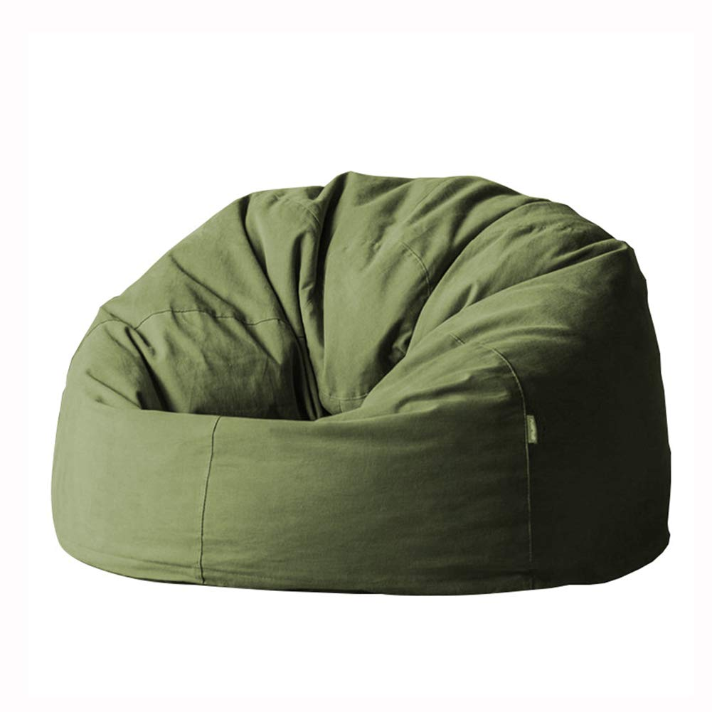 LDIW Funda de Puf, Funda de Silla de Puff Bean Bag Cubierta de ...