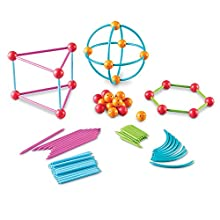 Learning Resources Geometric Shapes Building Set