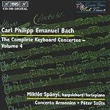 Bach, C.P.E.: Keyboard Concertos (Complete), Vol.  4