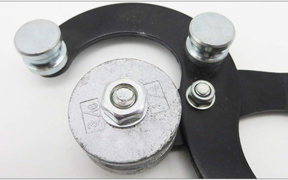 ULTECHNOVO Dobladora de Tubos Manual de Doblado Manual de Aire Acondicionado Herramienta de Tubo para Doblar Tubos de Cobre Tubo de Acero Color Aleatorio