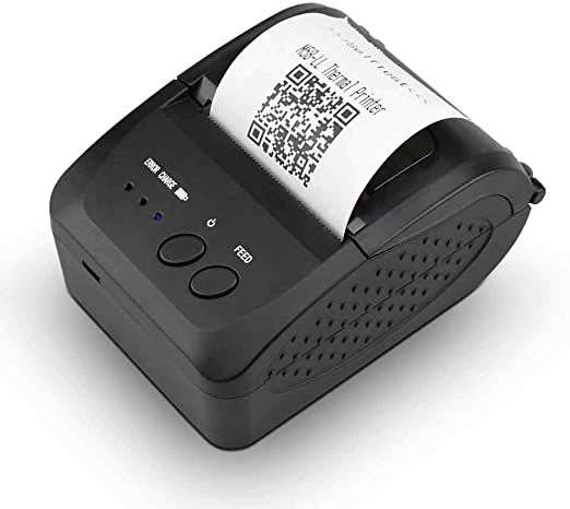 FJJLOVE Impresora de Etiquetas, inalámbrica Bluetooth Impresora ...