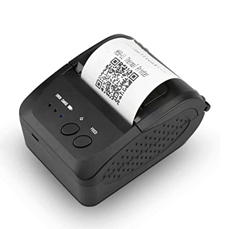 FJJLOVE Impresora de Etiquetas, inalámbrica Bluetooth ...