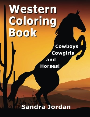 Western Coloring Book : Coloring Pages for Kids : 9781635894295 | 500x386