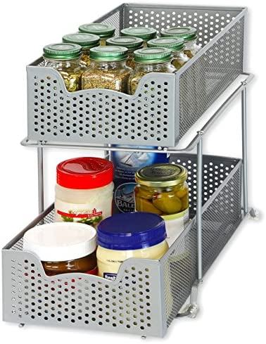 Simple Houseware Sliding Cabinet Organizer