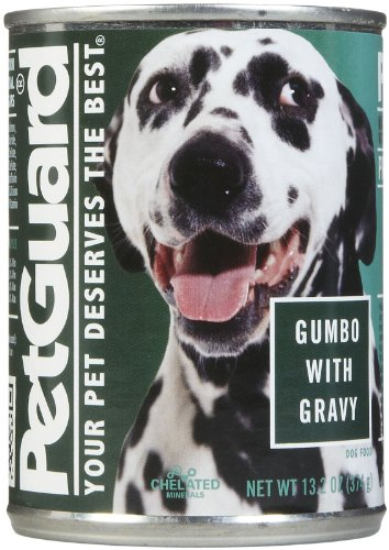 PetGuard Gumbo in Savory Gravy Dinner - All Stage -12x13.2oz