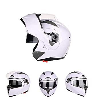 Goooolife Moto Crash Casco Modular De Alta Seguridad-JIEKAI Full Face Racing Casco De Moto