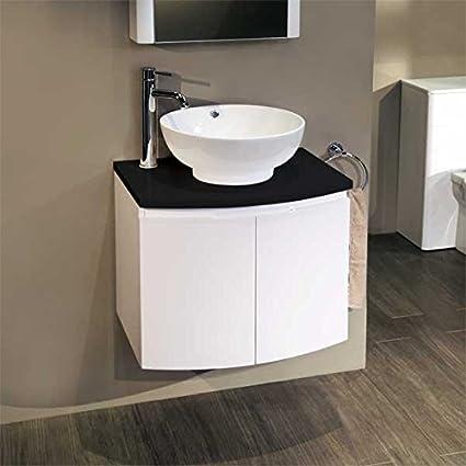 600 lavabo con mueble lavabo sobre encimera para baños Ensuite - o ...