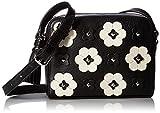 Rebecca Minkoff Floral Applique Camera Bag, Black