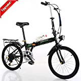 Folding Bike for Adults Men and Women 7 Speed