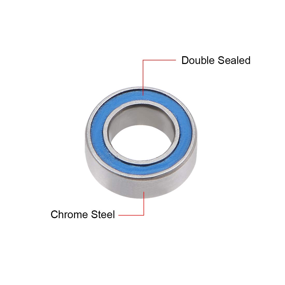 MR74-ZZ two side metal shields MR74 high quality ball bearing MR74-2Z