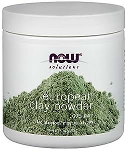 Now Foods European Clay Powder, 6-Ounce