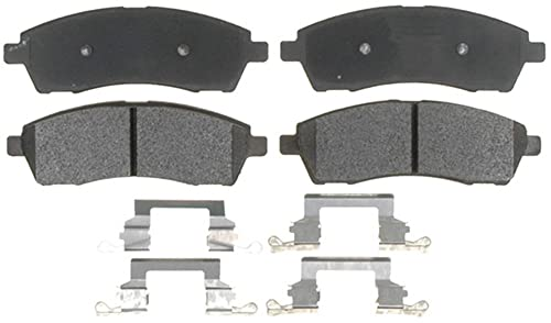 Raybestos PGD757M Professional Grade Semi-Metallic Disc Brake Pad Set